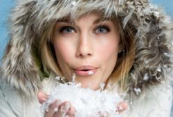 Зимнее увлажнение кожи
