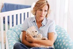 Послеродовая депрессия у мамы