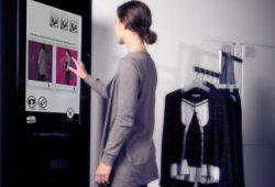 В магазинах одежды появятся зеркала с выходом в Twitter.