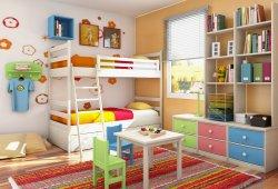 Обустариваем детскую комнату