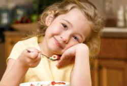 Особенности составления рациона для детей 3-7 лет.