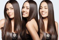 Что представляет собой выпрямление волос