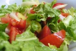 Польза зелёных салатов