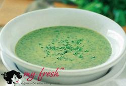 Суп из кресс-салата.