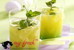 Имбирный лимонад.