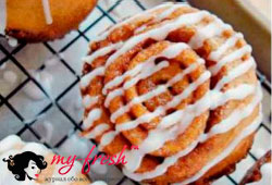 Овсяное печенье с корицей.