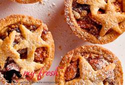 Тарталетки с фруктово-ореховой начинкой.