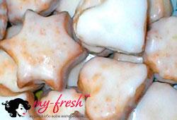 Имбирное печенье в королевской глазури.