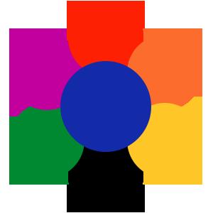 Сочетание цветов в интерьере
