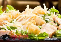 Салат из курицы с медовой заправкой