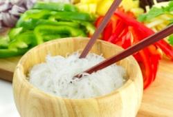 В чем польза рисовой лапши