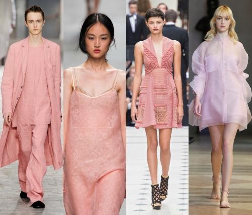 Розовый и голубой - цвета года по версии Pantone