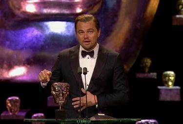 Леонардо Ди Каприо получил премию BAFTA