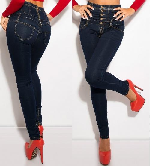 высокие джинсы 1