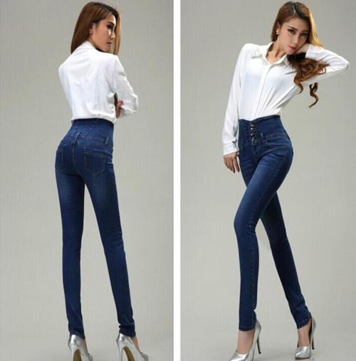 высокие джинсы 2