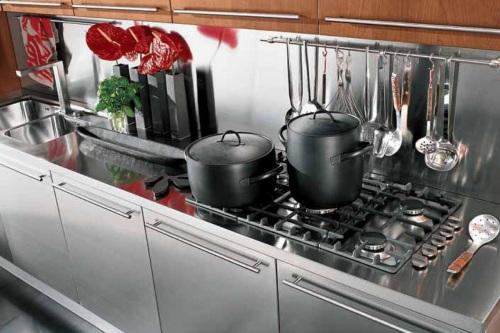Фартук на кухне: идеи и материалы