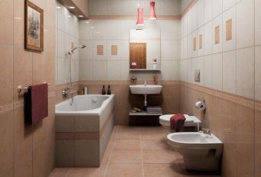 Керамическая плитка – лучший отделочный материал для ванной