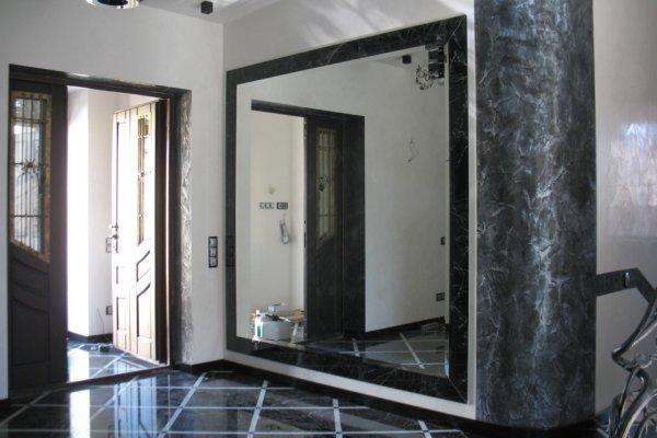 Зеркало в пол - новые представления об интерьере