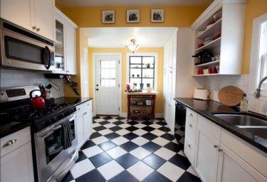 Какой пол для кухни выбрать?