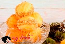 Ореховое печенье с масляным кремом