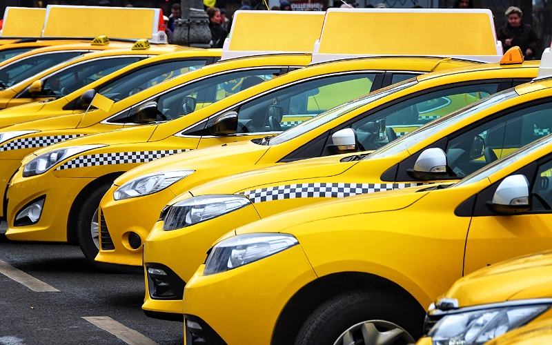 Контроль таксопарка через gps